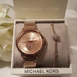 Michael Kors Watch and Bracelet set